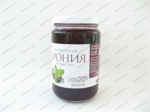 ARONIA jam with fructose + 340 grams fiber.