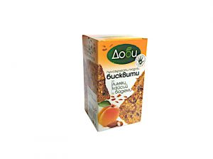 Whole fruit biscuits with spelled, apricots, almonds - 150g