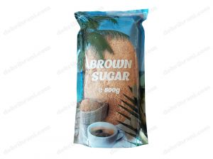 Broun unrefined, cane sugar crystals - 500g.