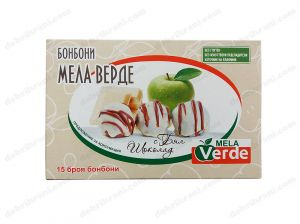 Mela Verde candies with WHITE CHOCOLATE - 180g